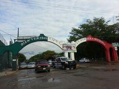 El arco de Iguala Gro. Mexico..