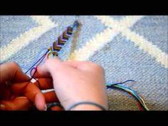 chevron friendship bracelet video tutorial