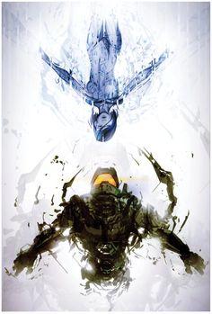 Halo 4 fan art More