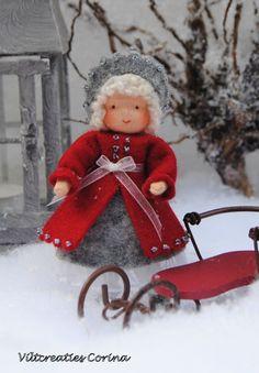 Viltcreaties Corina: Nieuwe Kerst/winter patroonbladen!