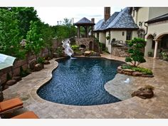 Pools and Spas - Freeform Gallery - Home and Garden Design Ideas
