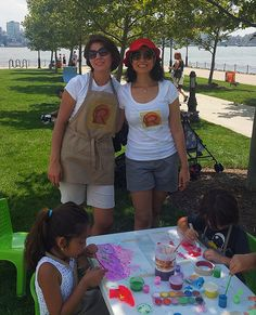 "On July 16th, The Renaissance Child took part in the ""City of Water Day"" organized by the Waterfront Alliance . This family friendly event was held in two great locations, including Hoboken's very own Maxwell Place Park, to celebrate the waterfront and gather families together for a day of fun."