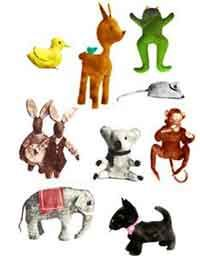Over 100 FREE Stuffed Animal Sewing Patterns at AllCrafts.net Sew an entire menagerie of stuffed animals with our photo gallery of 100+ free stuffed animal sewing patterns. From cats to dogs to bunnies to mice to alligators and every animal in-between, a new plushie is just as close as a quick trip to the sewing machine.