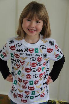 100 Super Days Shirt Christmas Sweaters, Fashion, Moda, Fasion