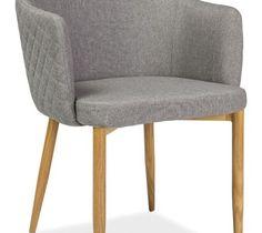 Krzesło Astor Szary - Krzesła do salonu - zdjęcia, pomysły, inspiracje - homebook
