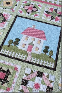 Wild Rose Cottage Quilt