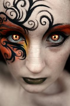 There was fire in her eyes by LaurenGibson.deviantart.com on @deviantART