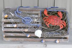 1000 images about crab trap decor on pinterest crab trap lobster trap and crabs - Trap decor ...