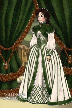 Scarlet O'Hara for Hugtherocks ~ by Inanna ~ created using the LotR Hobbit doll maker | DollDivine.com