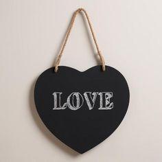 Heart Chalkboard | World Market