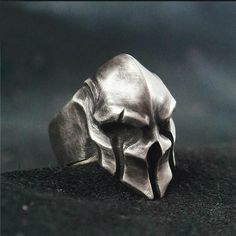 Jewelry Men ☠☠☠ Skull Warrior Ring ☠☠☠ ☠ Made to Order Handcrafted Skull Warrior Ring created just for you. Each piece is like a treasured jewelry warriors wore thousands of years ago, the time-tested antique aesthetics and impeccable quality are timeless Skull Jewelry, Body Jewelry, Jewelry Rings, Male Jewelry, Jewelry For Men, Skull Rings, Craft Jewelry, Jewelry Tree, Jewelry Party