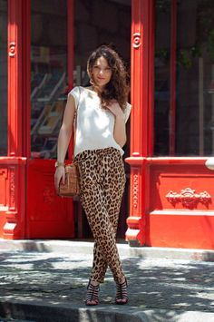 Ideas para los pantalones de print de leopardo #moda #leopard #fashion #printleopard #style #ideas