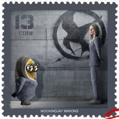 The Hunger Games Mockingjay Minions. WHY IS THIS SO FUNNY