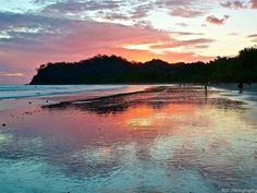 Playa Samara, Nicoya Peninsula, Costa Rica. Gorgeous sunsets. -- I've been here, but I would LOVE to go back