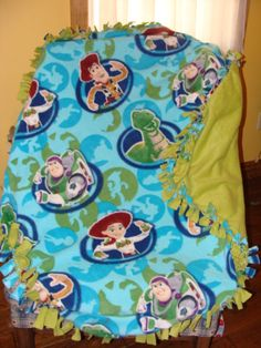 Toy Story Blanket too cute!   https://www.etsy.com/listing/185300740/toy-story-blanket?ref=shop_home_active_11