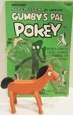 LAKESIDE: 1965 Pokey Super-Flex Toy #Vintage #Toys