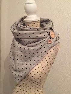 Jerseyschals - Wickelschal - ein Designerstück von Jennifer-Guse bei DaWanda