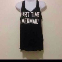 Part time mermaid tank Buy 1 get 1 50% off WILL NOT BE RESTOCKING THIS STYLE!! ✨NO TRADES✨ ✨PRICE FIRM✨ ✨BRAND NEW✨ Price is non negotiable Tops Muscle Tees