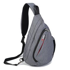 Nornou Sling Bag Crossbody Chest Shoulder Backpack Multipurpose Daypack for Men & Women Rucksack Backpack, Hiking Backpack, Travel Backpack, Travel Bags, Book Bags For Men, Oakley Backpack, Waterproof Laptop Backpack, Shoulder Backpack, Wholesale Bags