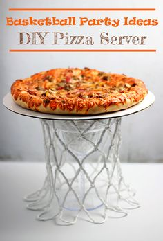DIY Basketball Party Ideas with DIGIORNO® Stuffed Crust Pizza at Walmart #NewFavorites #cbias #shop