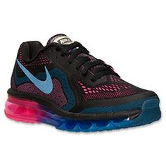 Women's Nike Air Max 2014 Running Shoes| Finish Line | Jade Glaze/Black/Bright Magenta
