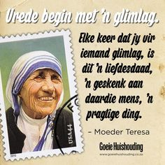 Peace begins with a smile Good Housekeeping, Afrikaans, Your Smile, Happy Life, Prayers, Funny Quotes, Knowledge, Wisdom, Peace