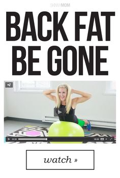 Banish back fat with this workout.