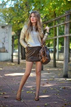 GOLDEN SWEATER | Mi aventura con la moda