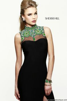 Sherri Hill Homecoming Dress 21370 at Peaches Boutique