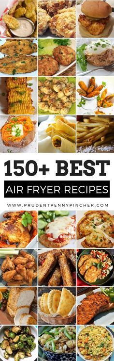 This is the ULTIMATE collection of the best air fryer recipes. There are over a hundred air fryer recipes for breakfast lunch dinner snacks appetizers desserts and more! With the New Year right around the corner start the year off right by being mor Air Fryer Oven Recipes, Air Frier Recipes, Air Fried Food, Air Fryer Healthy, Healthy Diet Recipes, Pressure Cooker Recipes, Appetizer Recipes, Tapas, Catering
