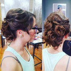 #hairbyaprilperry #updo #twists #curls  #bridal #weddinghair