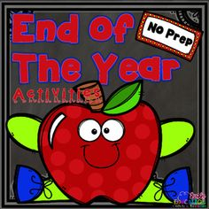 Printable End of the Year Activities: Reading. by Emily Education Summer Words, 100 Chart, End Of Year Activities, First Day Of Summer, Word Sorts, Last Day Of School, Memory Books, Summer Pictures, My Teacher
