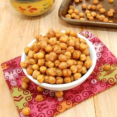 Morrocan Chick Peas snack, yummy....I put a little coconut oil and real vanilla. It gave it a lovely sweet flavor.