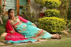 Shehrbano Wedding Wear 2013 With Model Nadia Hussain 06