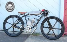 The Bullet motorized bicycle boardtracker / by imperialcycles, $1750.00