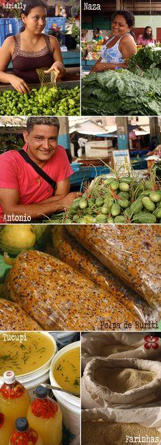 Cores e pessoas do mercado de Santarém (Santarém Market, Pará, Amazon, Brazil)