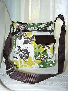 Nine & Co. By Nine West Floral Cross-Body Handbag EEUC Free Ship