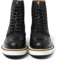 GivenchyContrast-Sole Leather Boots