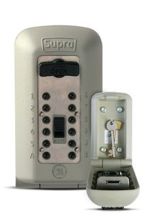 Supra C500 Key Safe Secure/Wall Mounted/Outdoor/Key Storage Device