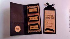 DIY: Cartão com bombons para o Dia dos Namorados | Namorada Criativa - Por Chaiene Morais