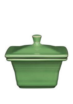 Shamrock Fiesta® Square Covered Box made exclusively for Belk Department Stores by Homer Laughlin China Company
