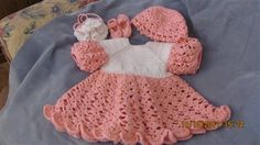 Abby Dress - Media - Crochet Me. Need to make this for River for Easter next year.