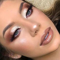 # Make-up Inspiration Christmas Makeup - Professional Makeup - Party Makeup - Wedding Makeup Formal Makeup, Glam Makeup, Party Makeup, Makeup Inspo, Makeup Inspiration, Makeup Blog, Makeup Ideas, Makeup Eye Looks, Body Makeup