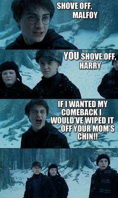 Stikke af, Malfoy