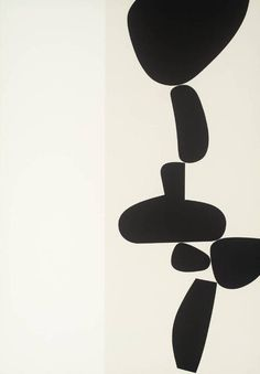 Artwork page for '[no title]', Victor Pasmore, 1971 Black And White Painting, White Art, Black White, Victor Pasmore, Art Blanc, Modern Art, Contemporary Art, Grafik Design, Minimalist Art