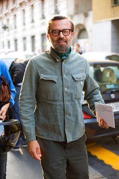 On the Street….. Workwear Chic, Milano « The Sartorialist
