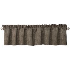 Complete your living room, dining room, or bedroom with the Glenmore Tailored Valance by Waterford . Perfect for adding an air of classic elegance,. Waterford Bedding, Linen Comforter, Bed Linens, Balloon Valance, Black Bed Linen, Kitchen Valances, Classic Elegance, Surf Shop