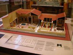 Roman House - interior