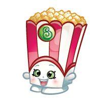 Poppy Corn is a common Sweet Treats Shopkin from Season Two. Favorite Hobby: