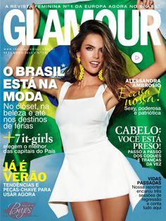 Alessandra Ambrosio - Glamour Magazine Cover [Brazil] (September 2013)
